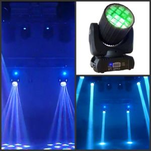 12PCS 10W LED Wash Light (HT-LM-1210F) Moving Head