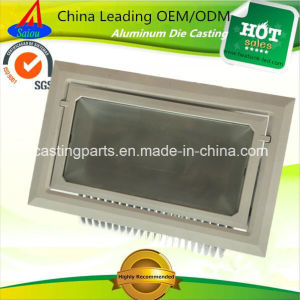 Aluminum Casting LED Fixture Housing Accessories Floodlight Heatsink pictures & photos