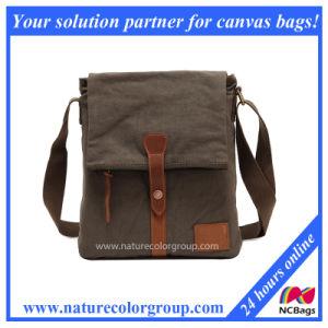 Men′s Casual Multifunction Canvas Shoulder Bag Cross Body Satchel Bag (MSB-027) pictures & photos