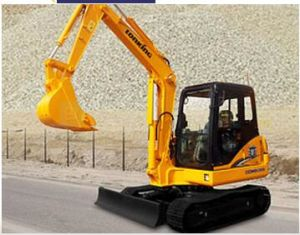 Economical Chinese Construction Machine Mini Excaator LG6065 for Sale pictures & photos
