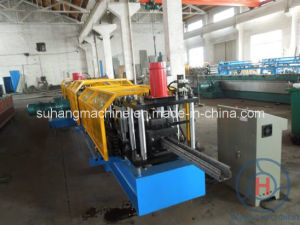 Storage Rack Roll Forming Machine / Pallet Rack Making Machine pictures & photos