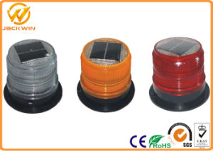 High Brightness Solar Powered Blinking Yellow / Red LED Warning Light pictures & photos
