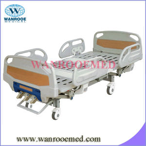 3 Crank Manual Hospital Bed Side Rails pictures & photos