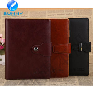 2015 Premium Genuine Leather Cover Notebook with Low Price (XL-21005) pictures & photos