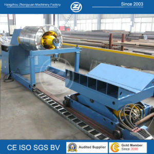 Roll Forming Machine Hydraulic Decoiler with Coil Car pictures & photos