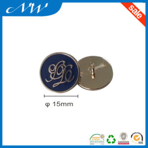 Factory Price Enamel Metal Shank Alloy Button