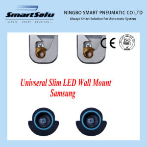 Smart Universal Slim Aluminum TV Wall Mount Fixed TV Bracket pictures & photos
