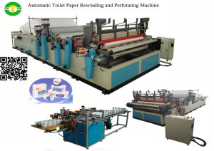 Full Automatic 1575mm Toilet Tissue Paper Product Making Machinery pictures & photos