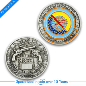 Factory Price Wholesale China Customized Logo Challenge Coins in High Quality pictures & photos