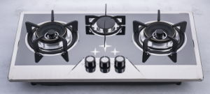 Three Burner Gas Cooktop (SZ-LW-131) pictures & photos