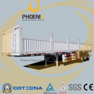Hot Sale 40feet 3 Axle Cargo Semi Trailer with Sidewall pictures & photos