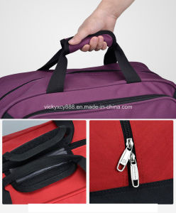 Quality Waterproof Nylon Wheeled Trolley Travelling Luggage Bag Handbag (CY3410) pictures & photos