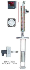Factory Sale Top Mounted Magnetic Float Type Level Gauge for Underground Tank pictures & photos