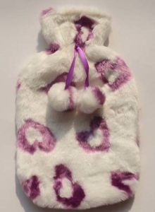 2000ml Plush Hot Water Bottle Cover pictures & photos