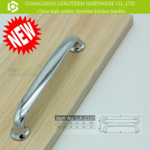 Good Surface Finished Zinc Alloy Furniture Handles with Chrome Plated pictures & photos