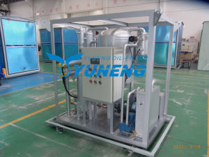 Vacuum Steam Turbine Oil Purification System pictures & photos