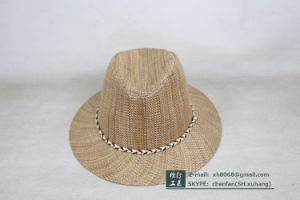 Fedora Straw Hat (OT-XH8019) pictures & photos