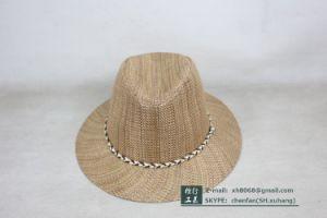 Fedora Straw Hat (OT-XH8019) pictures & photos