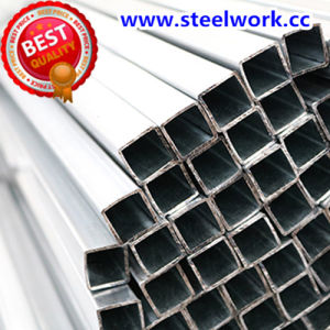 ERW Galvanized/ Annealing Welded Square/ Rectangular Steel Pipe (T-02) pictures & photos