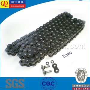 530V Precision O-Ring Motorcycle Chain with Black Plates pictures & photos