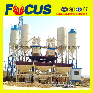 Hzs75 Stationary Concrete Batching Plant for High-Speed Railway pictures & photos