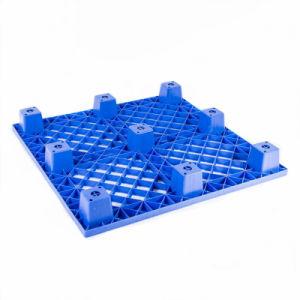 Wholesale Strong Structure Durable No. 9 Plastic Square Pallet for Transportation pictures & photos