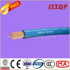 H05V-K / H07V-K Copper Wire, PVC Insulated Non-Sheated Single Core Cables with Flexible Copper Conductor pictures & photos