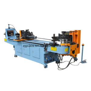 Automatic Pipe Rolling Bending Machine with Push Bend for Big Radius, Roll Bending Machines with 3 Stacks pictures & photos