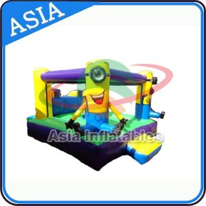 Back Yard Inflatable Minion Combo Castle and Slide pictures & photos