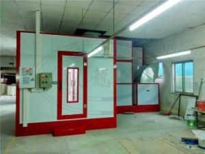 OEM Wld8200 Infrared Lamp Spray Paint Booth with Mixing Room pictures & photos