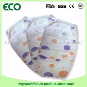 Extrathin Soft & Breathable OEM Disposable Baby Diaper with Big Waist Band pictures & photos
