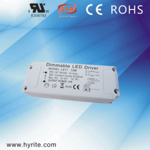 Indoor 700mA 36W 0-10V Dimmable Plastic External LED Driver Ce pictures & photos