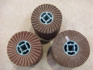 Wire Drawing Interleaved Flap Wheel pictures & photos