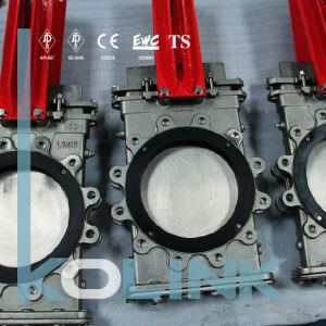 Through Conduit Knife Gate Valve with Replaceable Seat