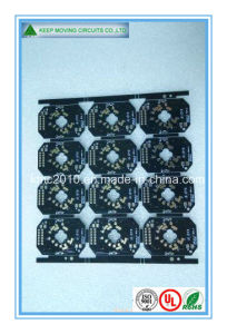 Small LED PCB Board with Black Soldermask pictures & photos