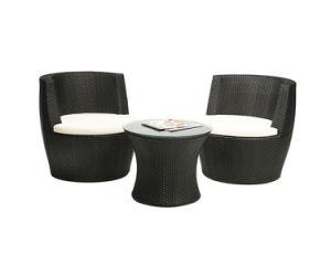 3PCS Garden Outdoor Furniture Rattan Wicker Vase Set
