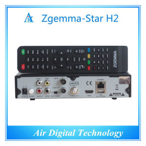 DVB T2 DVB S2 HD Kodi Player Satellite TV Decoder Zgemma Star H2 pictures & photos