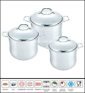 Big Stainless Steel Stockpot pictures & photos