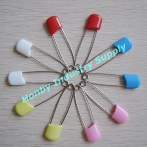 Colored Stainless Steel Baby Nappy Infant Safety Pins for Adults (P160308E) pictures & photos