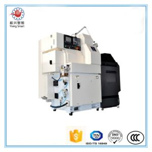 Yixing Bsh203 High Precision Economic 3 Axis Gang Tool Type CNC Lathe pictures & photos