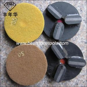 Cr-18 Diamond Metal Grinding Pads for Granite pictures & photos