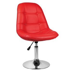 Modern Bar Furniture Red PU Cover Salon Master Chair (FS-T6111) pictures & photos