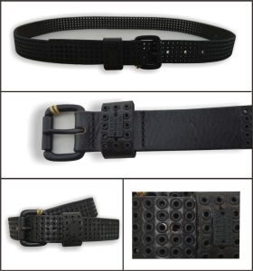 Cool Stylish Genuine Leather Fashion Stud Belt pictures & photos