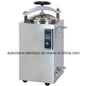 Vertical Digital Display Automaic Pressure Steam Sterilizer pictures & photos