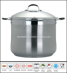 Big Deep Stockpot Stainless Steel Pot pictures & photos