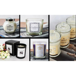 Luxury Glass Scented Candle Factory China pictures & photos