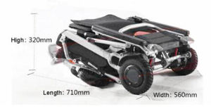 Electric Wheelchair Power Wheelchair Hz2015-007 pictures & photos