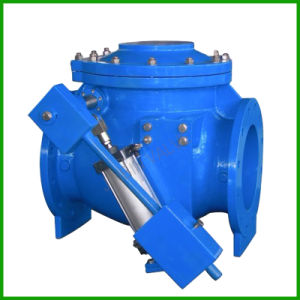Swing Check Valve with Air Cushioned Cylinder- Check Valve pictures & photos