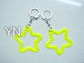 Reflective Key Chain with Stars pictures & photos