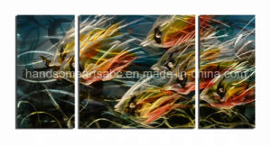 Handmade Metal Wall Art with 3D Effect for Decoration - Freedom Fish pictures & photos